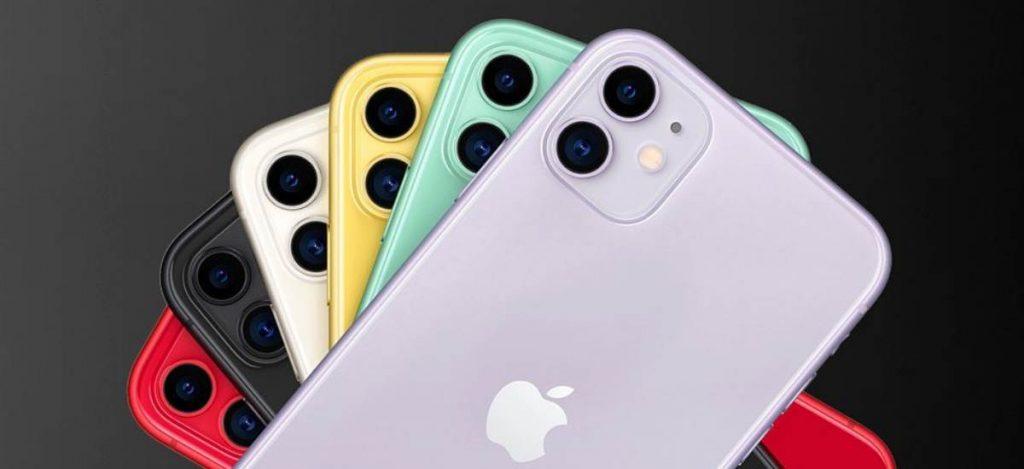 В России закончились зеленые и фиолетовые iPhone 11