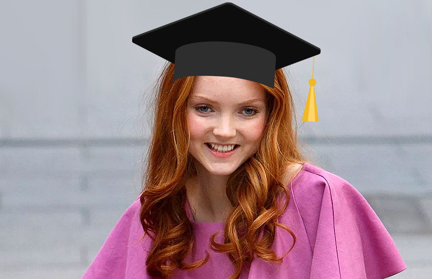 Лили Коул образование диплом учеба 1 сентября День знаний