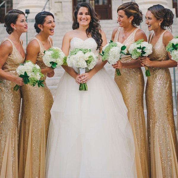 Самый главный день: твоя свадьба в золотом цвете