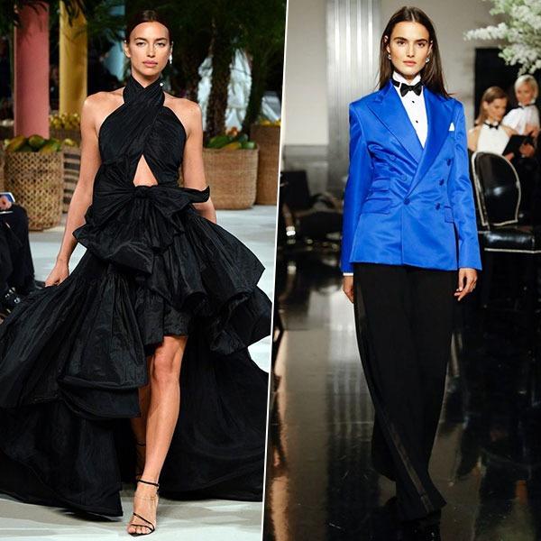 Неделя моды в Нью-Йорке: монохром, драпировка и геометрия