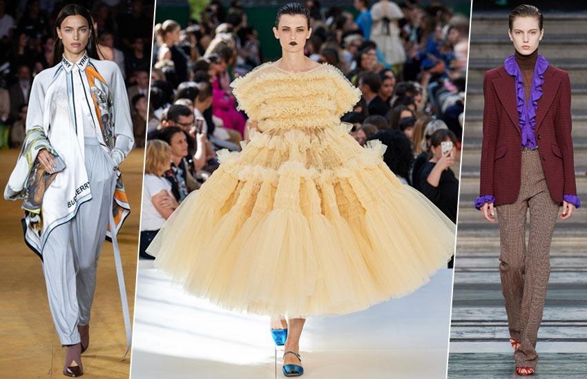 Неделя моды в Лондоне сентябрь 2019 тренды весна-лето 2020