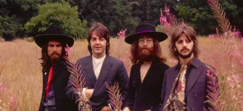 Вышел новый клип The Beatles