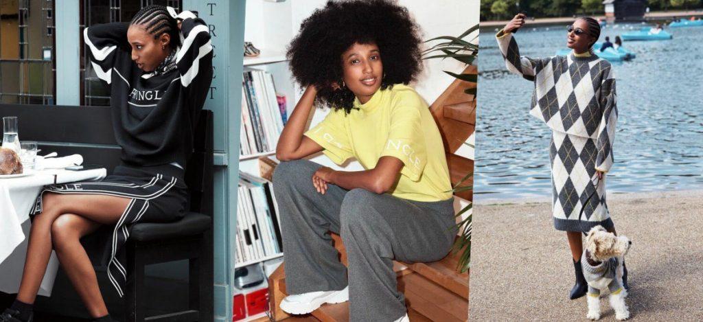 H&M выпустили коллекцию совместно с Pringle of Scotland