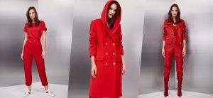 Рита Ора создала красную коллекцию для Escada