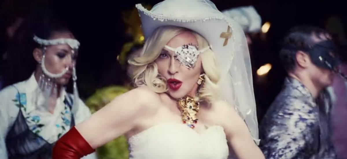 Мадонна выпустит коллекцию косметики