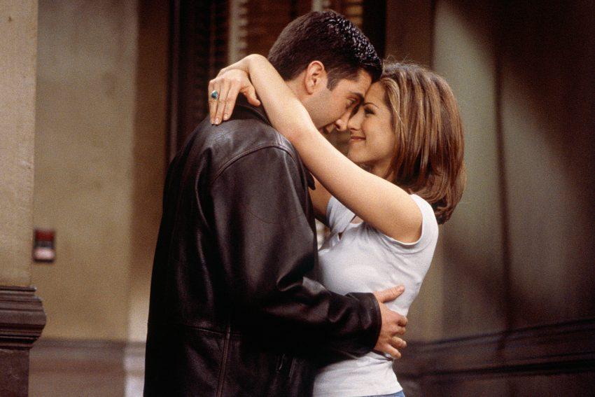пара мужчина и женщина перемирие после расставания отношения
