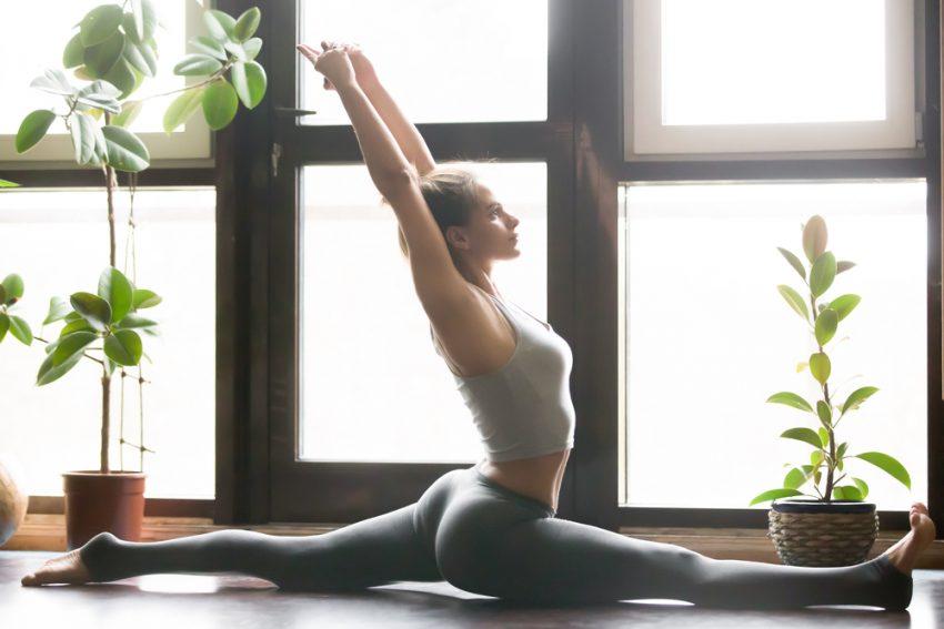 Шпагат фитнес растяжка как сесть