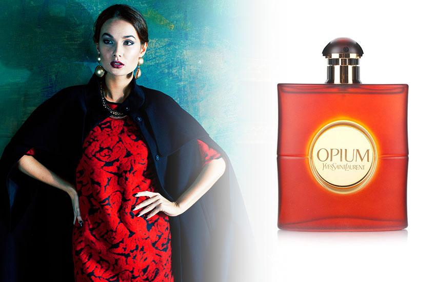 парфюм духи классика самые легендарные ароматы Opium Yves Saint Laurent