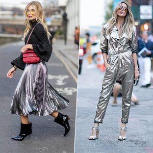 Серебряный look: как носить и с чем сочетать оттенки белого металла в одежде