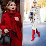 Lady in red: 5 стильных способов носить красный этой осенью