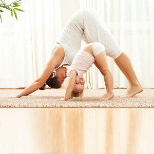 Фитнес с ребенком: как похудеть молодой маме