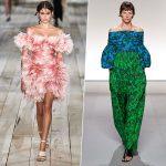 Неделя моды в Париже: акцент на талию, 70-е и нежный лососевый