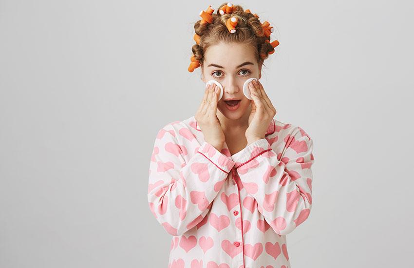 девушка уход за кожей молодость советы косметолога