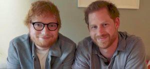Принц Гарри и Эд Ширан записали видео вместе