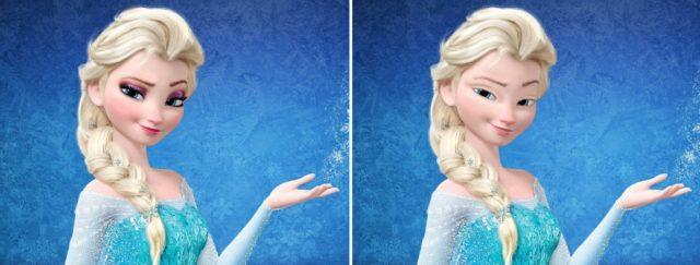 Принцессы Дисней без косметики