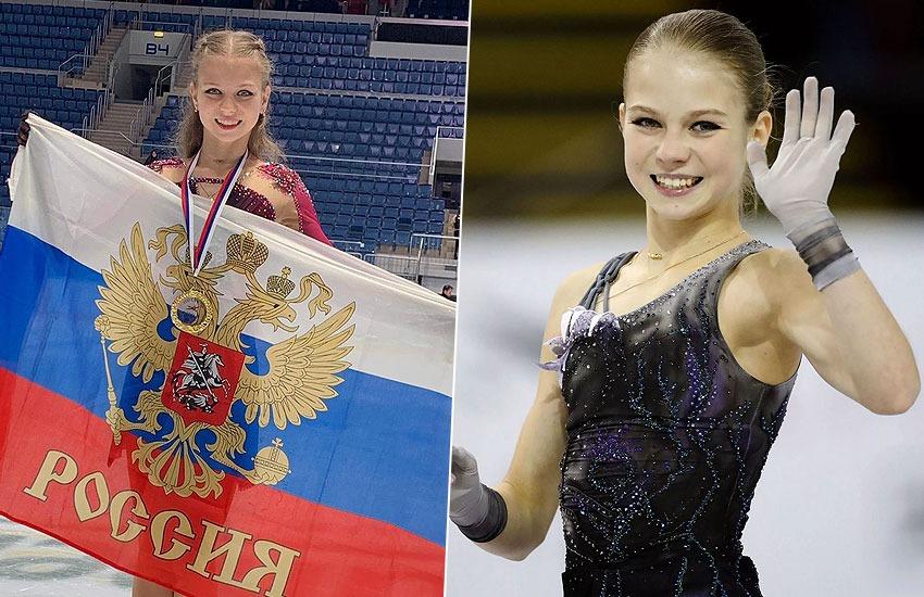 победа Александры Трусовой в Канаде
