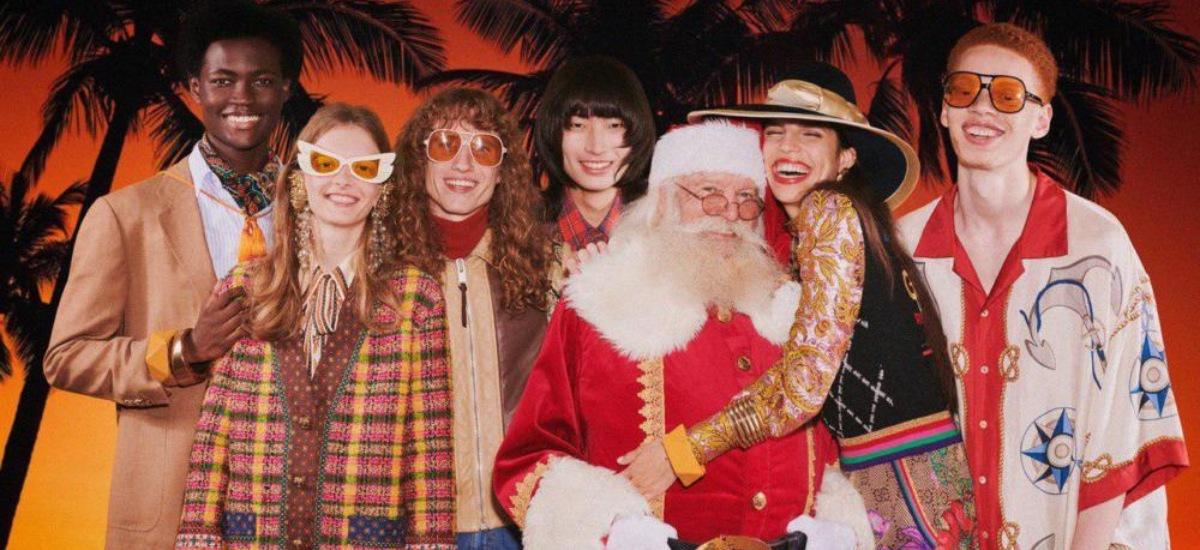Рождественская коллекция Gucci