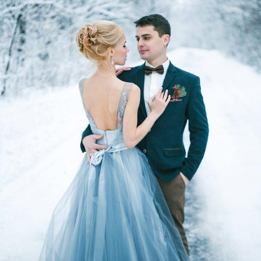 Зимняя сказка: плюсы и тонкости свадьбы в холодное время года