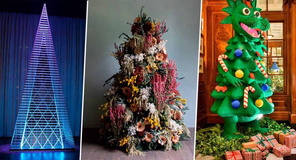 Названы 10 самых оригинальных елок 2019 года