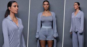 Пижама к празднику: Ким Кардашьян выпустила коллекцию одежды для сна