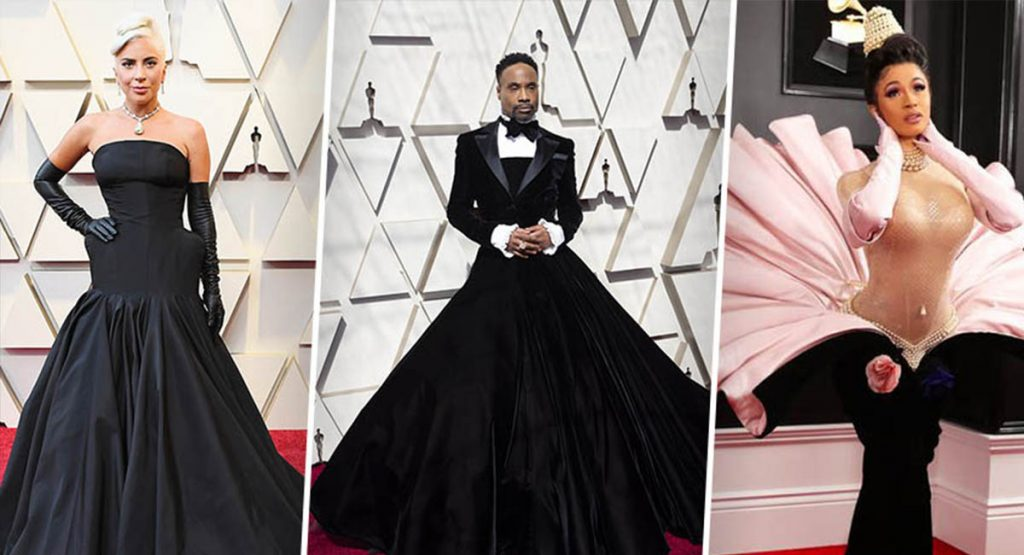 Платье-смокинг и «устричный ансамбль»: Google назвал самых нарядных знаменитостей 2019 года
