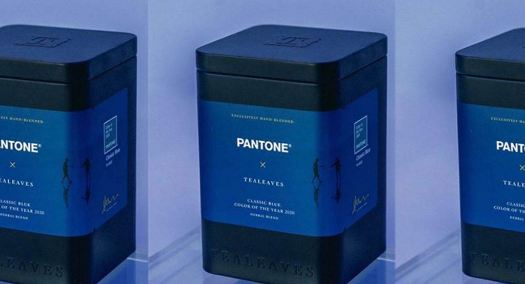 Синие сумерки в чашке: Pantone выпустил чай в честь официального цвета 2020 года