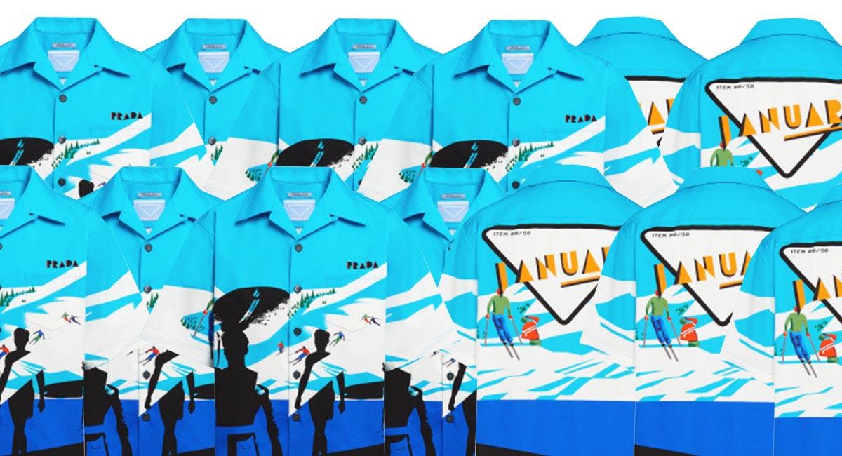 Prada выпустил коллекцию идеальных рубашек для отпуска