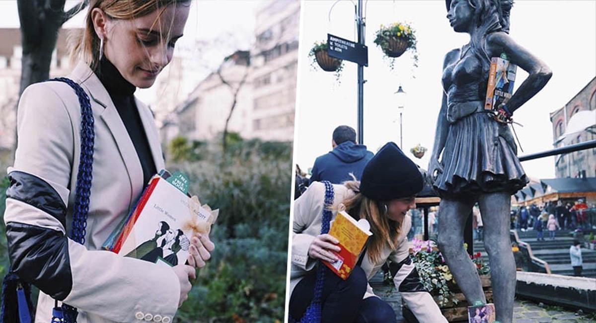 Эмма Уотсон устроила книжный флешмоб к премьере «Маленьких женщин»