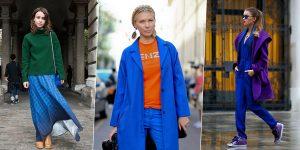 Классический синий: с чем носить главный цвет 2020 года