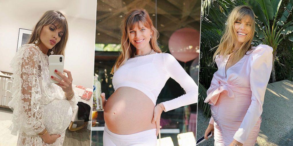 Топ-модель Марина Линчук впервые стала мамой