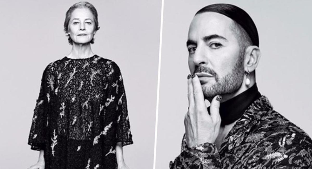 Шарлотта Рэмплинг и Марк Джейкобс снялись в кампании Givenchy