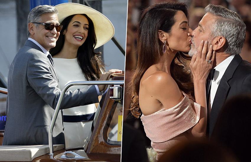 Джордж Клуни и Амаль Аламуддин звездная пара