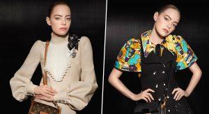 Эмма Стоун снялась для рекламной кампании Louis Vuitton