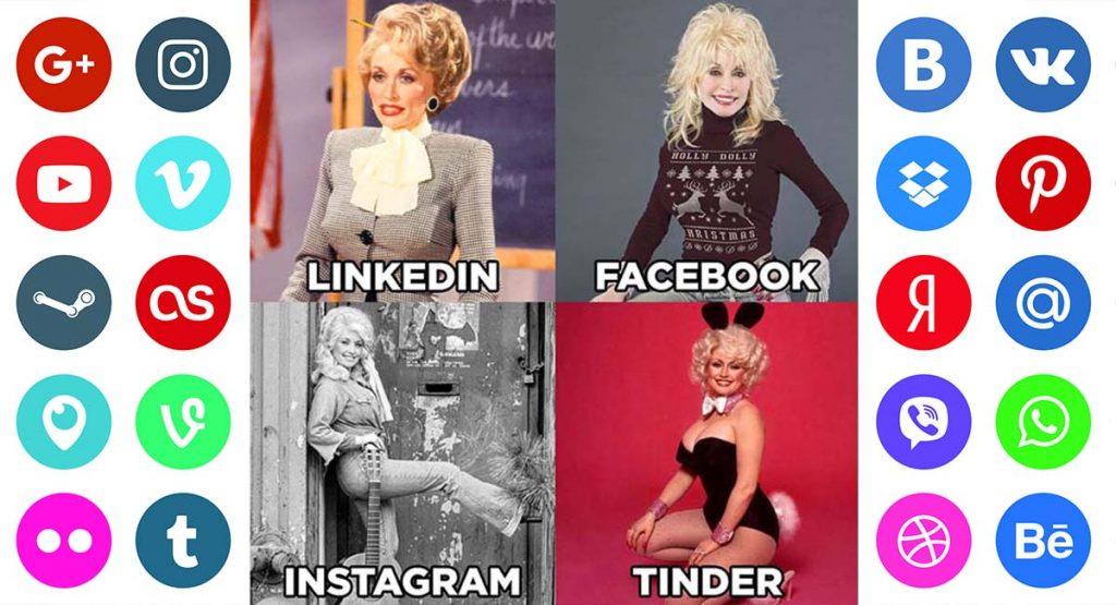 LinkedIn, Facebook, Instagram, Tinder: новый мем охватил сеть
