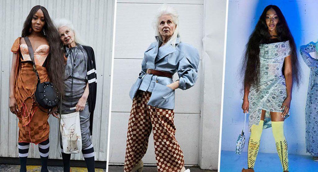 Наоми Кэмпбелл снялась в рекламе Vivienne Westwood