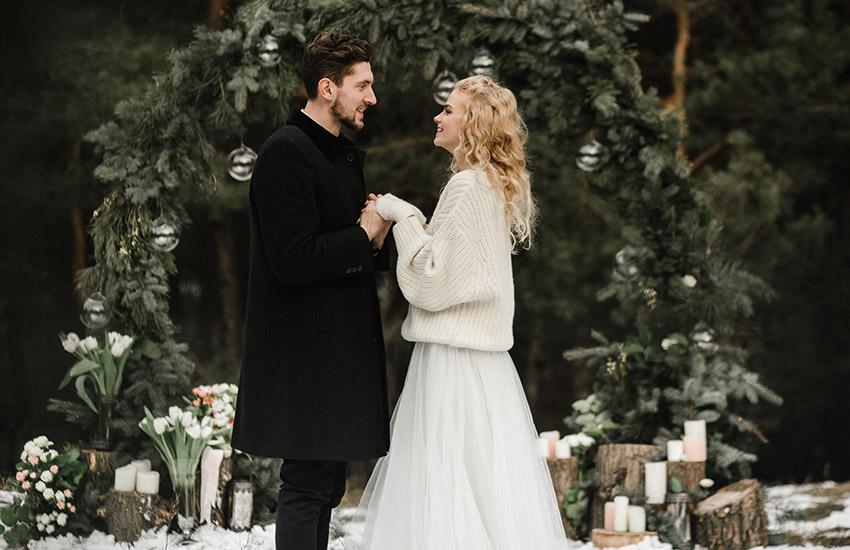 свадьба невеста жених свадебные клятвы