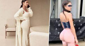 Созданы шорты, которые имитируют формы Ким Кардашьян
