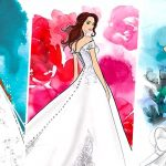 Disney и Allure Bridals создали коллекцию свадебных нарядов принцесс