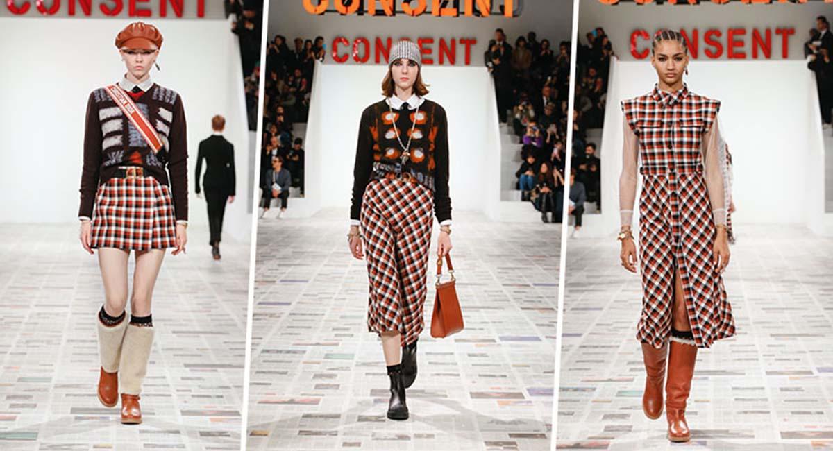 В Париже прошел показ Dior осень-зима 2020