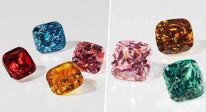 Swarovski представил коллекцию разноцветных искусственных бриллиантов