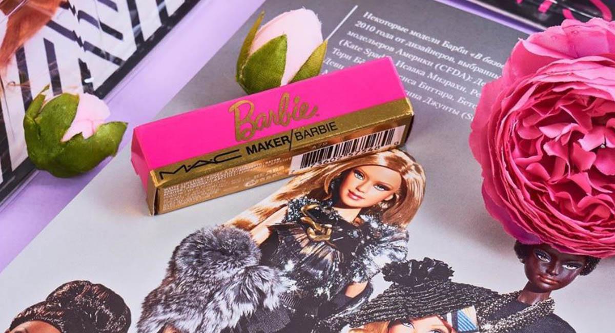 M•A•C создал помаду в стиле Barbie