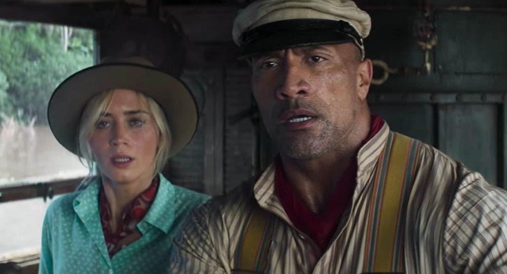 Эмили Блант и Дуэйн Джонсон путешествуют по Амазонке в трейлере «Круиза по джунглям»