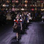 Смешение эпох в показе Louis Vuitton осень-зима 2020