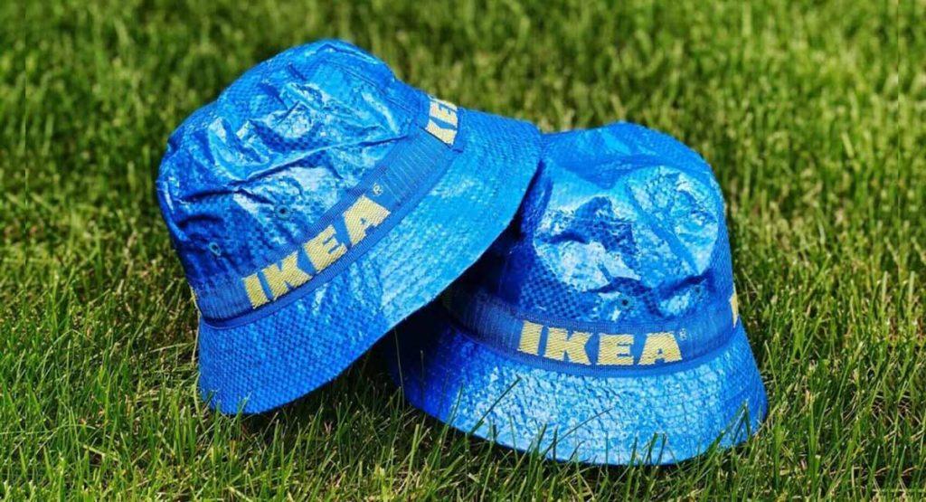 IKEA выпустила панамы по мотивам сумки Frakta