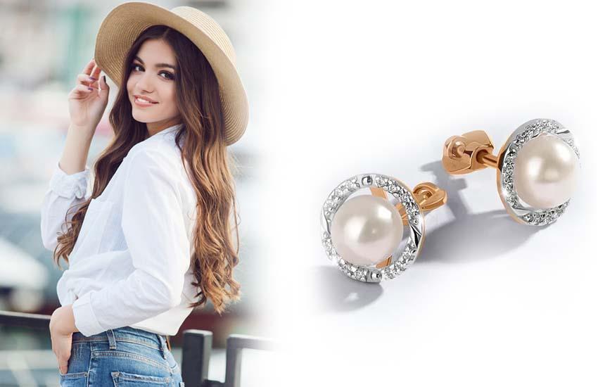 женственность девушка стиль украшения драгоценные камни жемчуг