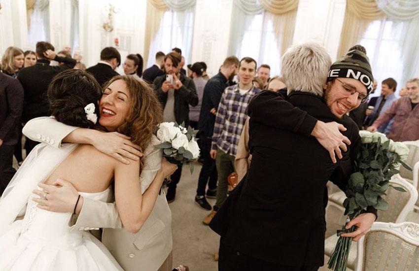 солист Little Big Антон Лиссов и Анжелика Иванова