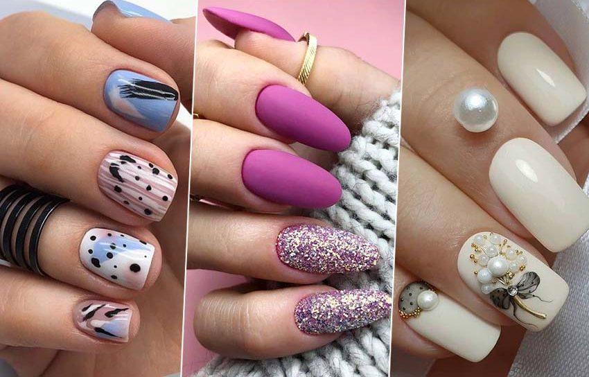 маникюр 8 марта тренды дизайн ногтей