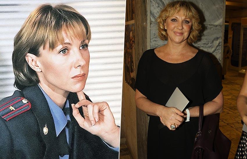 Елена Яковлева сериал Каменская тогда и сейчас