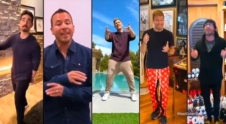 Backstreet Boys спели в прямом эфире свой главный хит