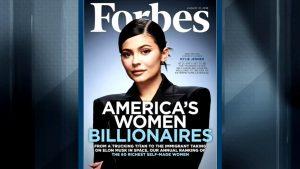 Кайли Дженнер возглавила рейтинг Forbes